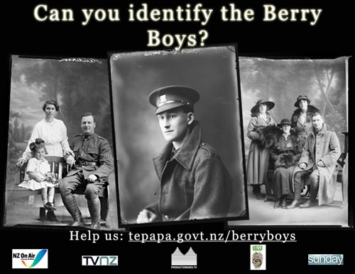Berry Boys Call Out